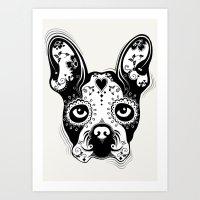 B.Terrier  Art Print