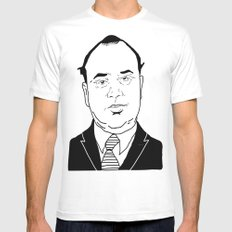 Al 'Scarface' Capone Mens Fitted Tee White SMALL