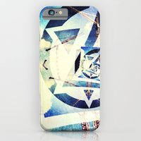 iPhone & iPod Case featuring Endless triangles by Molzography