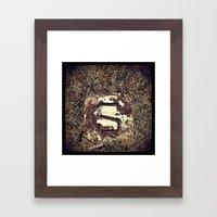 'MARKER' Framed Art Print