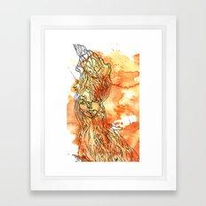 Woodland Whimsy Framed Art Print