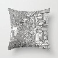SF Friendship Throw Pillow