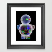 Espantapajaros Framed Art Print