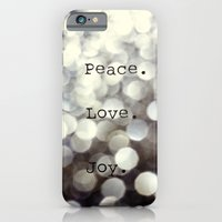 Peace. Love. Joy.  iPhone 6 Slim Case