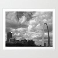 Clouds of St. Louis Art Print