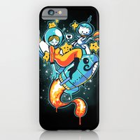 iPhone & iPod Case featuring A is for Astronaut by grrlmarvel