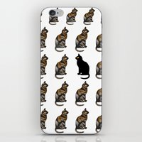 PURRSONAL SPACE CATTERN iPhone & iPod Skin