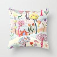 Garden Party - Print Throw Pillow