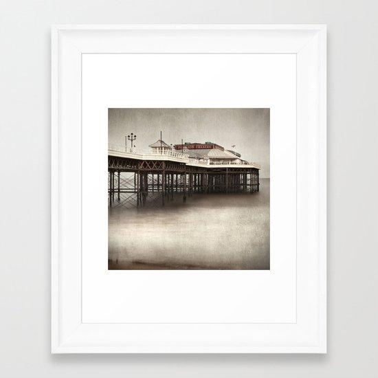 Cromer Pier, Norfolk Framed Art Print