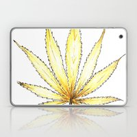 Golden Cannabis Laptop & iPad Skin