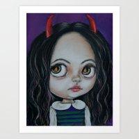Debil Chin Art Print