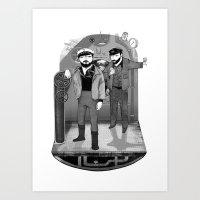 U-boat  Art Print