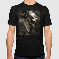 dusk Mens Fitted Tee Tri-Black SMALL