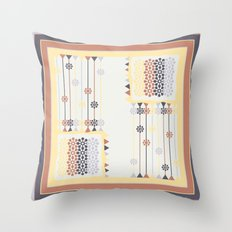 Abstract pillow pattern Throw Pillow