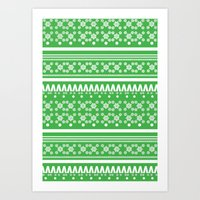 Christmas Jumper 5 Art Print