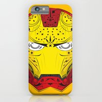 iPhone & iPod Case featuring Sugary Iron Man by Michael Tesch