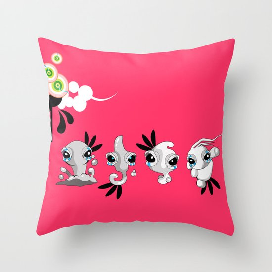 Smudglings Throw Pillow