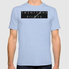 TØP Mens Fitted Tee Tri-Blue SMALL
