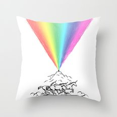 Creating magic Throw Pillow