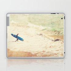 Margin Walker. surfer photograph Hermosa Beach Laptop & iPad Skin