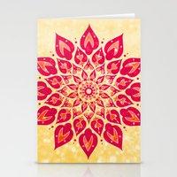 Mandala Savasana Stationery Cards