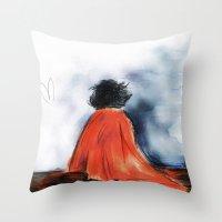 Shock Blanket- BBC's She… Throw Pillow