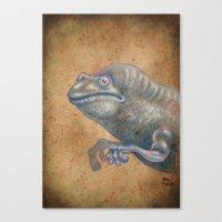 Medieval Monster XIV Canvas Print