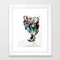 FatToy Idleness* Framed Art Print