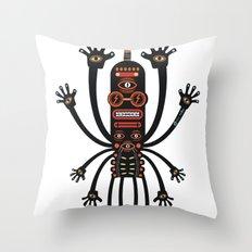 INKIMAN - Les danses de Mars Throw Pillow