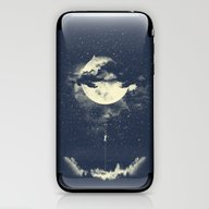 MOON CLIMBING iPhone & iPod Skin