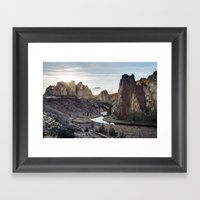 Smith Rocks - Oregon Framed Art Print