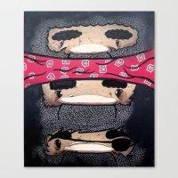 Pirate Totem. Canvas Print