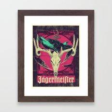 Meister of jägers Framed Art Print