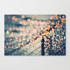 Sea of Lights Canvas Print