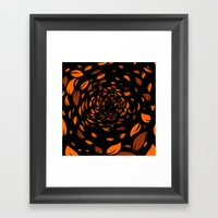 In The Leaves Framed Art Print