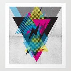 Shape Shock Art Print