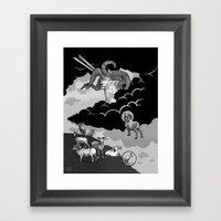 Goat Mountain / The Birt… Framed Art Print