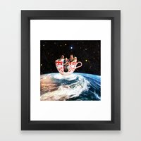 Storm In A Cup Framed Art Print