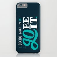 iPhone & iPod Case featuring Go Be It. by Chris Piascik