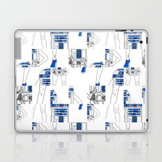 Robot Girl Cubism Laptop & iPad Skin