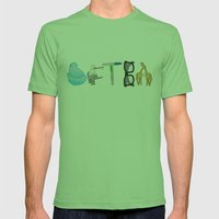 DFTBA Mens Fitted Tee Grass SMALL