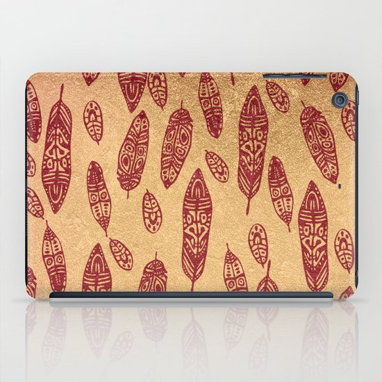 golden cave iPad Case