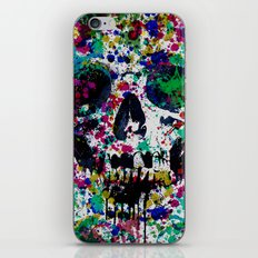Skull Splash II iPhone & iPod Skin
