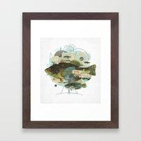 Cardume Framed Art Print