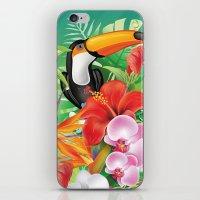 tropical  karnaval iPhone & iPod Skin