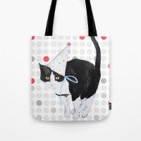 HAPPY BIRTHDAY CAT Tote Bag