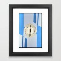 Landscapes c20 (35mm Double Exposure) Framed Art Print