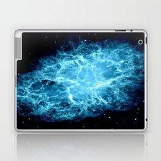 Crab Nebula Turquoise Laptop & iPad Skin