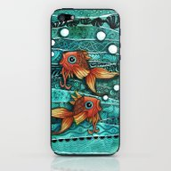 Baby Koi Tangle 2 iPhone & iPod Skin