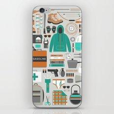Zombie Survival Kit iPhone & iPod Skin